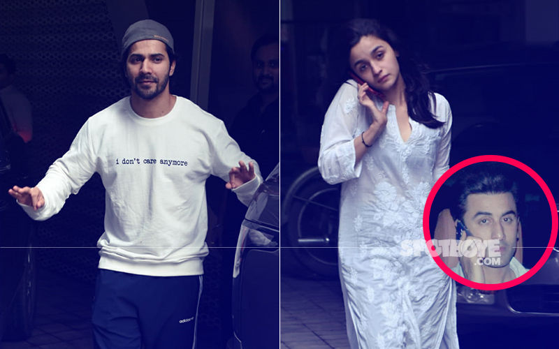 Alia Bhatt & Varun Dhawan Step Out After Kalank Rehearsals. Is The Actress Speaking To Ranbir Kapoor?