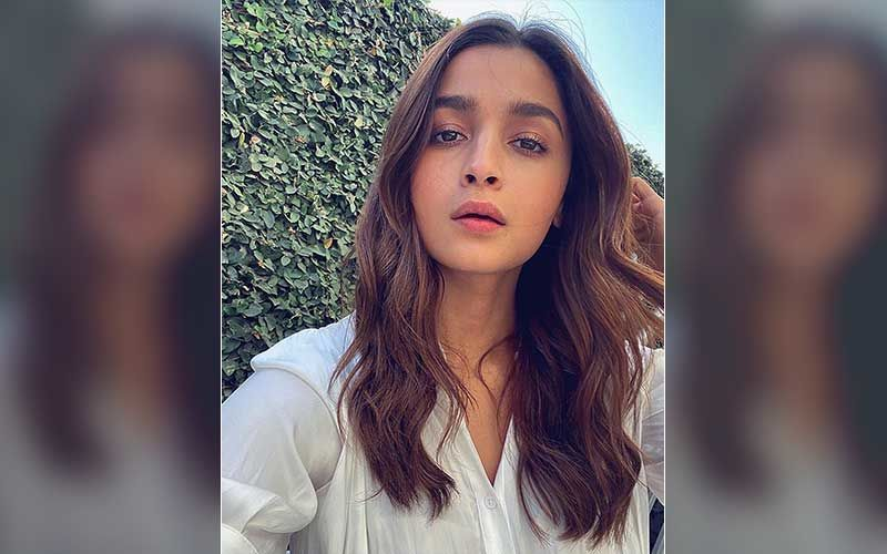 Alia Bhatt Spotted Outside Sanjay Leela Bhansali's Office; Actress Keeps It Casual In White Top And Blue Jeans- WATCH