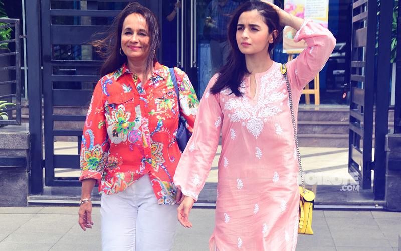 Alia Bhatt Takes Mommy Dearest Soni Razdan On A Lunch Date