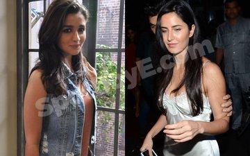 Alia Bhatt and Katrina Kaif's Satin Love!