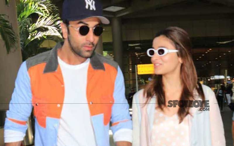 Alia Bhatt Gets Spotted Wearing A Gold Ring With Ranbir Kapoor And His Family's Lucky Number Engraved On It; Is That A Coincidence?