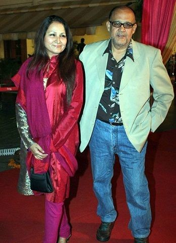 Alok Nath with Wife Ashu Singh