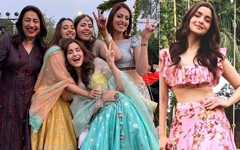 Don't Miss Alia Bhatt Dancing On Lamberghini And Coca-Cola Tu At Bestie's Wedding- Video Inside