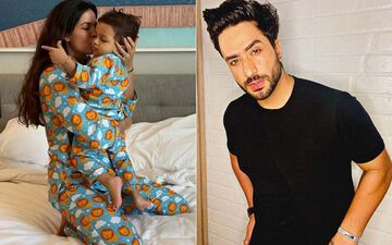 Natasa Stankovic Shares Cute Pictures Of Son Agastya Twinning In Pyjamas With Her; Here's How Aly Goni Reacted