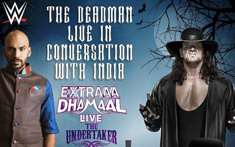 Sahil Khattar To Host WWE Legend Undertaker On A Live Show For The First Time In India