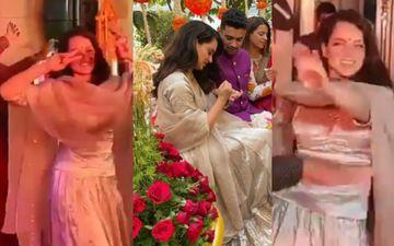 Kangana Ranaut Gracefully Dances With Rajasthani Folk Dancers Whilst Enjoying The Wedding Festivities Of Brother - WATCH Videos