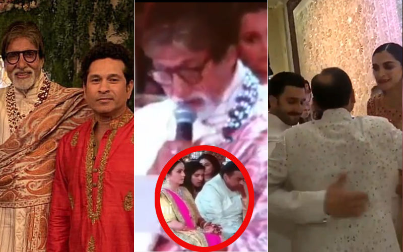 Isha Ambani Wedding, Inside Videos & Pics: Dad Mukesh Gets Emotional As Amitabh Bachchan Reads Out A Letter For Bridegroom