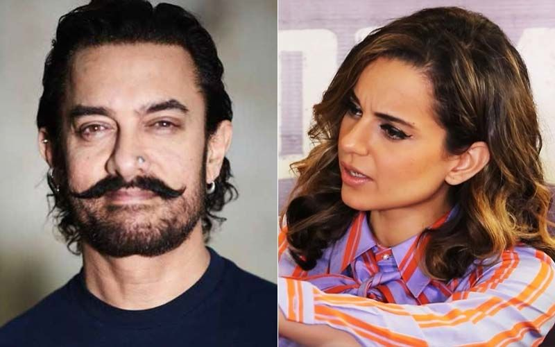 Aamir Khan Reacts On Kangana Ranaut Accusing Him For Not Standing Up For Manikarnika