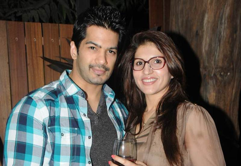 Amit Tandon With Wife Ruby Tandon