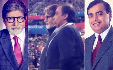 Catch Amitabh Bachchan & Mukesh Ambani Living The FIFA 2018 Fever At Semi-Finals