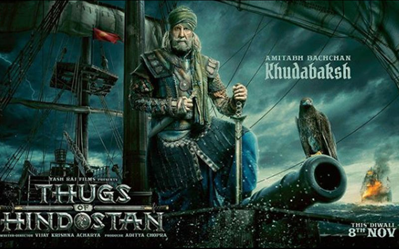 Thugs Of Hindostan Motion Poster: Here's Amitabh Bachchan As Khudabaksh- The Commander