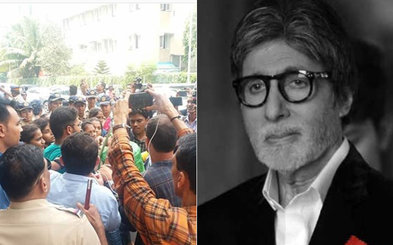 Students Protest Outside Amitabh Bachchan's Bungalow To Save Aarey, Get Detained By Police: Watch Video