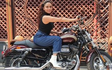 Malang Star Amruta Khanvilkar Will Set Your Heart Racing With Her Hot Harley Davidson Picture