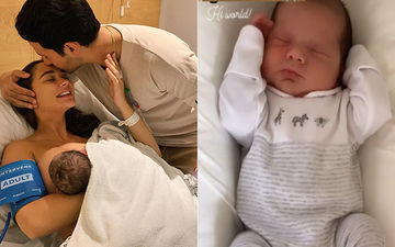 FIRST PICTURE: Amy Jackson And Fiancé George Panayiotou Reveal Baby Boy Andreas And We Can't Get Our Eyes Off Him