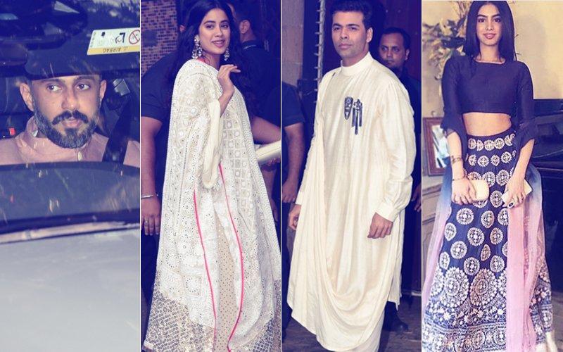Sonam's Dulhe Raja Welcomed To Dhol Beats At Kapoor Residence; Janhvi, Khushi, Arjun, KJo Arrive