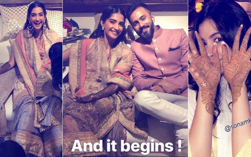 Sonam's Mehendi Videos & Pics: Here's What's Happening Inside Kapoors' Juhu Residence Right Now