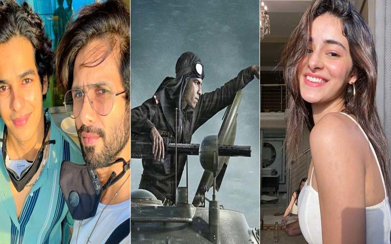 Ishaan Khatter Shares Pippa's First Look; Shahid Kapoor Says 'Ohoo Looking Good', Ananya Panday 'Can't Wait For The Magic'