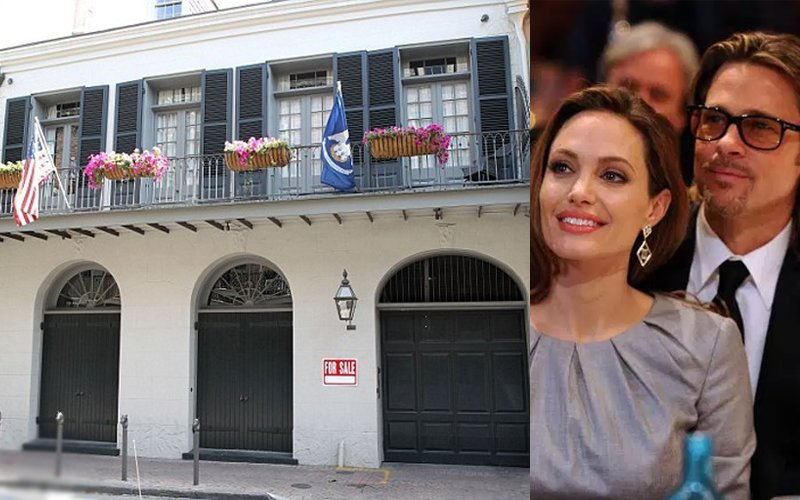 Angelina Jolie And Brad Pitt Out To Sell Their New Orleans Home For $5 Million