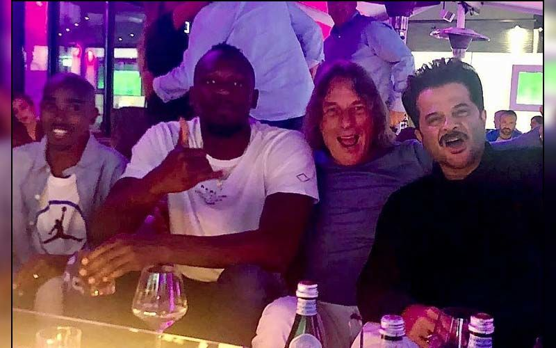 Anil Kapoor Parties The Night Away With Usain Bolt And Hussein Mo Farah In Germany -See Pics And Video