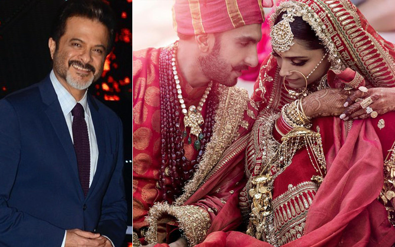 Anil Kapoor Upset For Not Being Invited For DeepVeers Wedding