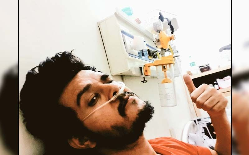 Anirudh Dave Gives A Health Update: Shares A Selfie On Day 36 From The Hospital, 'On The Road To Recovery Of Lungs'