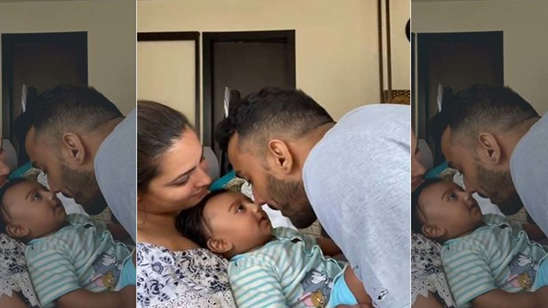 Anita Hassanandani Has A Hilarious Reaction To Her Baby Boy 'Aaravv' Looking More Like Dad Rohit Reddy