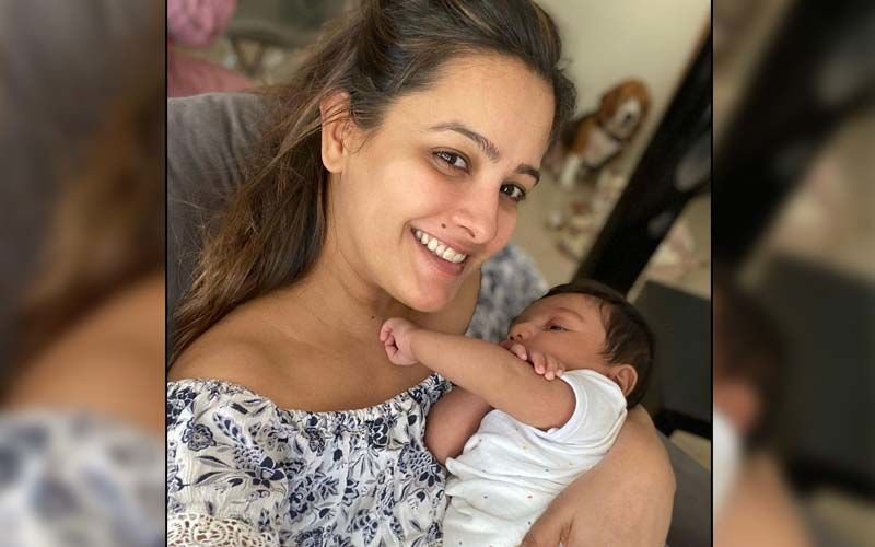 Anita Hassanandani Shares The First Photo Of Rohit Reddy With Their Baby Boy Aaravv Minutes After He Was Born As She Wishes Hubby On His Birthday