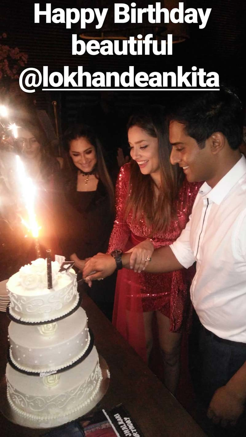 Ankita Lokhande Birthday Bash