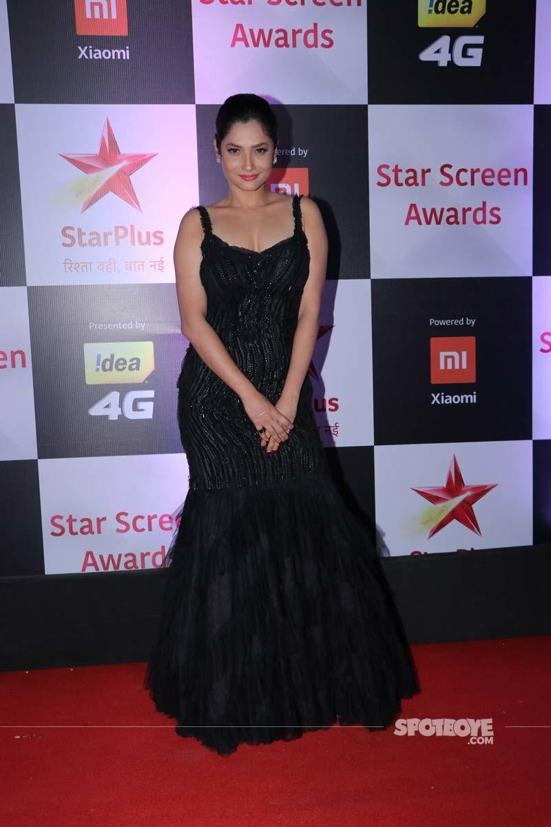 Ankita Lokhande At Star Screen Awards 2018