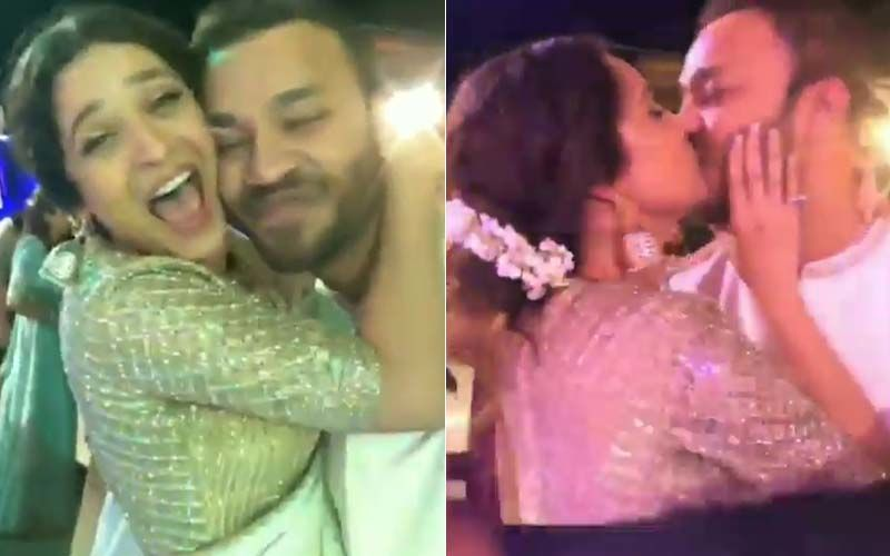 Ankita Lokhande Kisses Boyfriend Vicky Jain At A Wedding; Lovebirds Dance The Night Away