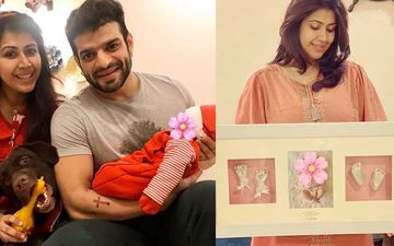KKK 10 Star Karan Patel And Wife Ankita Bhargava Get Daughter Mehr's Feet And Hands Immortalised In 'Clay Impression'