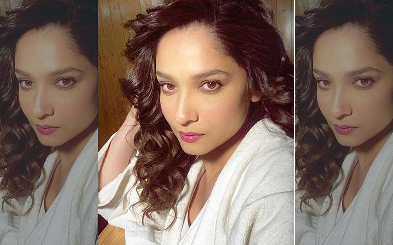 Ankita Lokhande Keeps Chanting God's Name While Taking Her First Jab Of COVID-19 Vaccine; Rashami Desai Can't Stop Laughing - WATCH