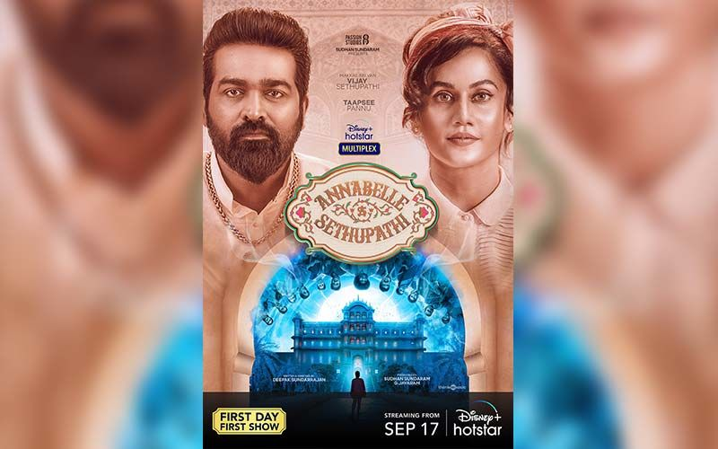 Annabelle Sethupathi: Vijay Sethupathi And Taapsee Pannu's First Look Poster From The Horror Comedy Unveiled