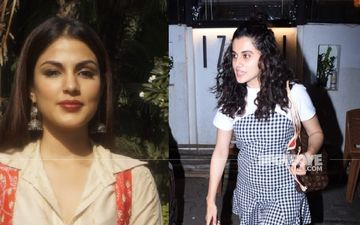 Taapsee Pannu Reveals She Doesn't Know Rhea Chakraborty Personally; Calls Media Trial 'Unfair'; 'Do You Want Rhea Or The Culprit To Go To Jail?'