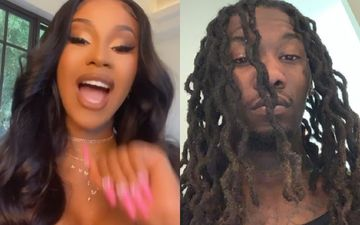 Cardi B Hasn't Shed A Tear Over Her Divorce With Offset; Asserts She Got Tired Of Arguing