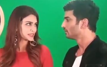 This Throwback Video Of Sushant Singh Rajput And Rumoured Ex-Girlfriend Kriti Sanon Asking For Ice Cream Is Unmissable - WATCH