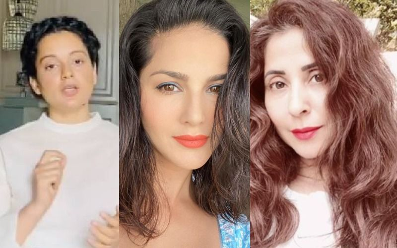 Kangana Ranaut Brings Up Sunny Leone In Urmila Matondkar Debate, 'Suddenly Fake Feminists Equating Being A Porn Star To Something Derogatory'