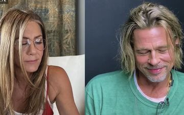 Brad Pitt And Jennifer Aniston Get All Flirty During Their Fast Times Table Read; 'Hi Honey, How You Doing' Moment Leads To Social Media Meltdown