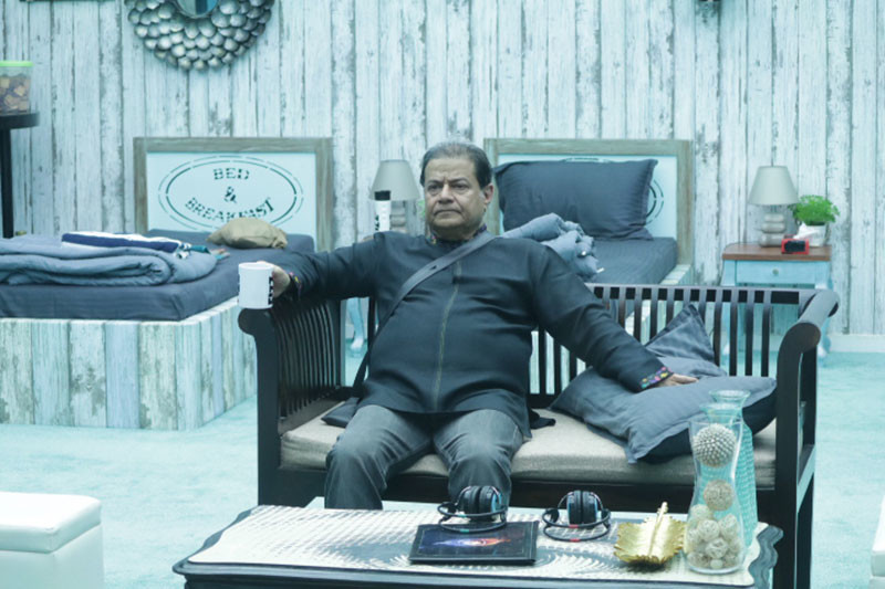 Anup Jalota In Bigg Boss House