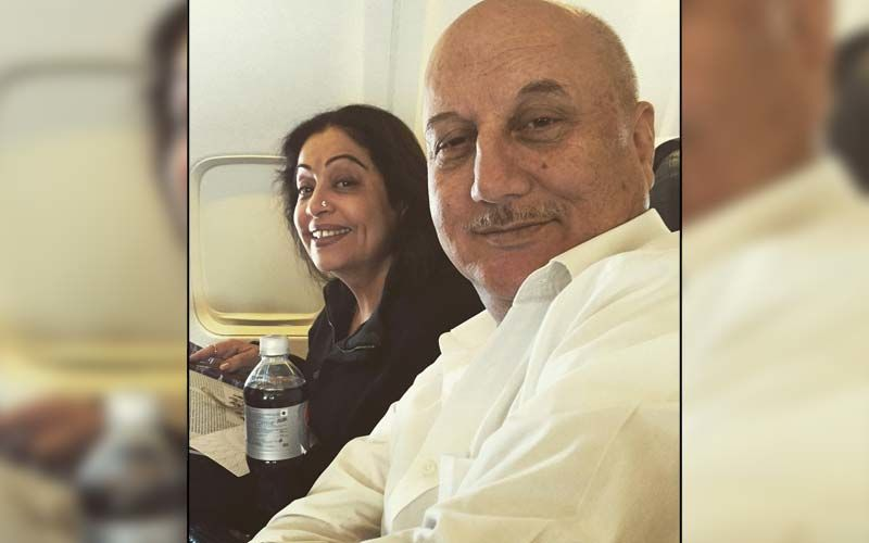 Anupam Kher Drops Throwback PICS With Kirron Kher On Their 36th Wedding Anniversary; Says, 'It Has Been A Long Journey But Worth It'