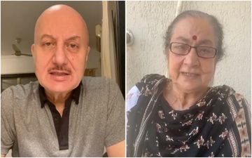 Anupam Kher Reveals They Told His Mother Dulari That She Doesn't Have COVID-19 But An Infection - VIDEO
