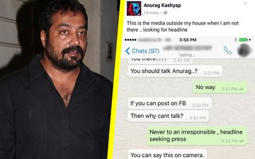 Angry Anurag Kashyap Posts Journalist's Contact Online, Channel Demands Apology, Contemplates Lawsuit