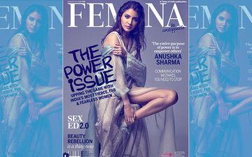 Femina के कवर पेज पर अनुष्का शर्मा का बोल्ड अवतार लगा रहा हैं इंटरनेट पर आग