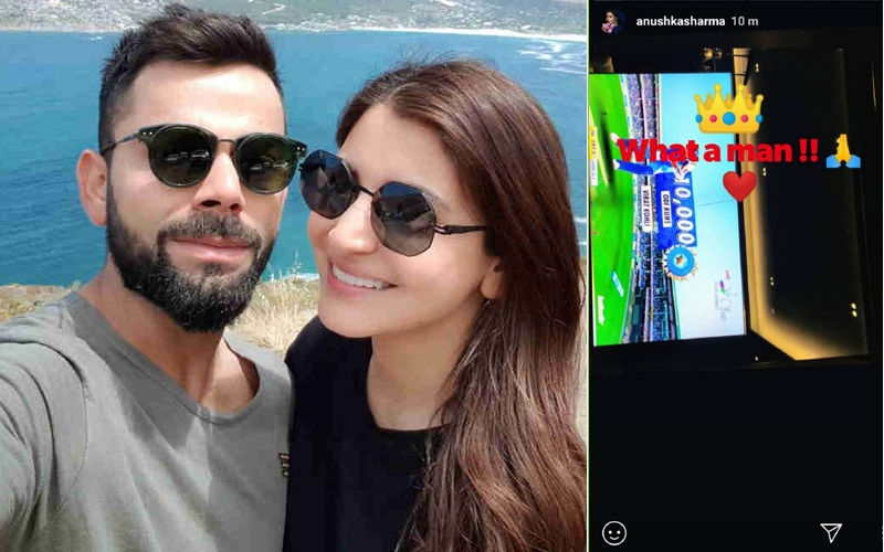 Anushka Sharma On Virat Kohli Completing 10,000 Runs In ODI: What A Man!