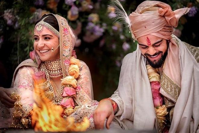 Anushka Virat Wedding Picture