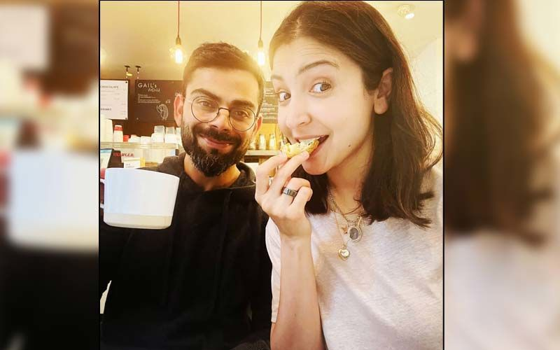 As Anushka Sharma Gives A Peek Into Her Delicious Breakfast, Hubby Virat Kohli Is Busy Burning Calories