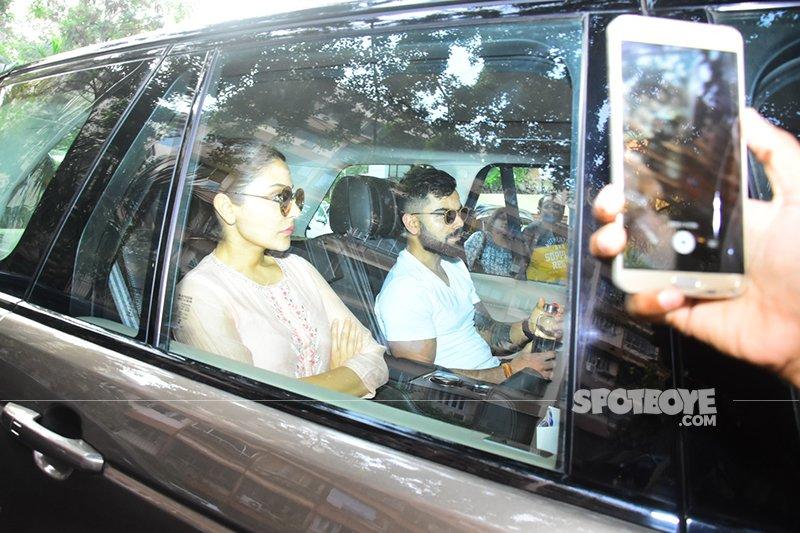 Anushka Virat Come To Offer Condolences To Sridevi