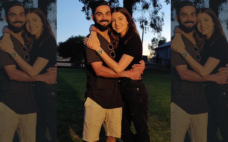 Anushka Sharma Mixes Work With World Cup; Juggles Between Shoots And Hubby Virat Kohli