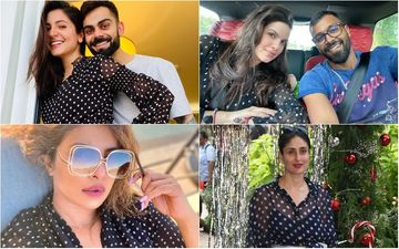 Anushka Sharma's Polka Dot Pregnancy Reveal Dress Triggers Funny Memes Featuring Kareena Kapoor Khan, Hardik Pandya, Natasa Stankovic