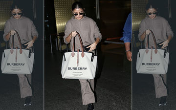 Anushka Sharma Carries A Bag Worth 91 Thousand At The Airport And Our Jaws Have Sunk To The Floor